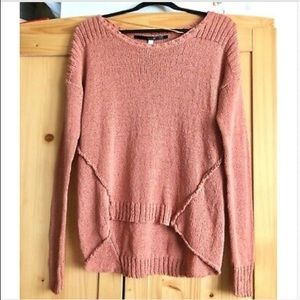 Kensie Womens Hi-Lo medium Knit casual Sweater